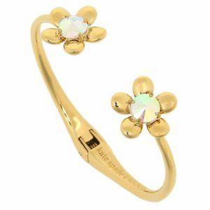Kate Spade Goldtone Sunset Blooms Flower Bracelet